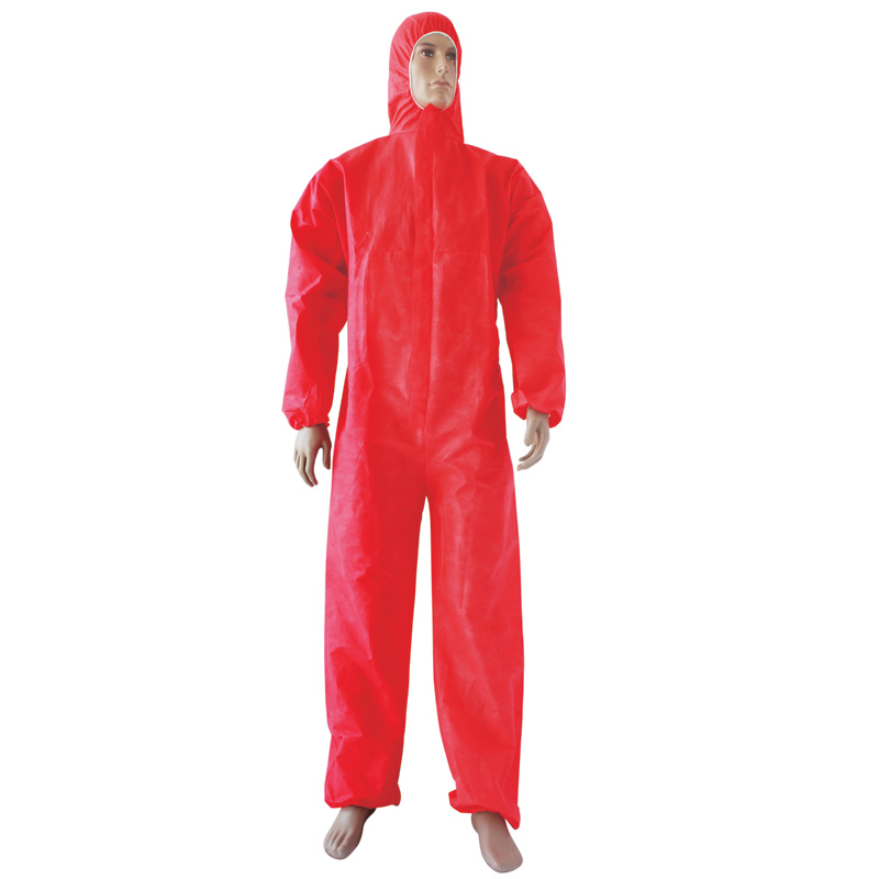 Three or four line overlock sewing Coveralls