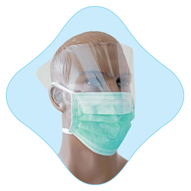 Disposable Face Mask With Eye Protection